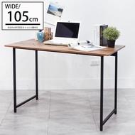 電腦桌/桌/書桌 木紋風105x55x75cm工作桌電腦桌 凱堡家居【B04790】