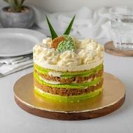 [ECREATIVECAKE] Ondeh Ondeh Naked Cake