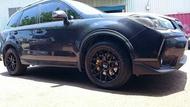 【Xiomara GT】煞車 卡鉗 活塞 SUBARU FORESTER 330劃線打洞碟盤 街道版-中六卡鉗 陽極金