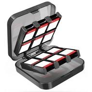 【pump】任天堂Switch/Switch Lite副廠 24+2入遊戲卡夾收納盒 MicroSD卡收納 Nintendo遊戲卡帶