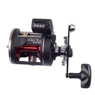計米器-鼓式-捲線器 海釣 船釣 釣魚 池釣 路亞 鼓式捲線器可釣雷強 筏釣 小船 鼓捲