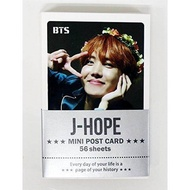 J-HOPE BTS BANGTAN BOYS - MINI POSTCARD PHOTOCARD SET 56pcs