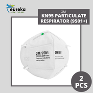 3M KN95 PARTICULATE RESPIRATOR (9501+) 2'S
