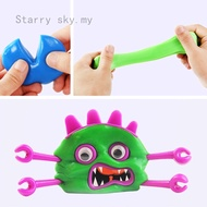 Stretchy and Bouncing Putty Mold Toys Kids Favor Toy Bag Filler with Accessories