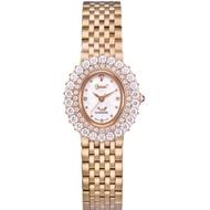 Ogival愛其華 薔薇系列璀璨時尚真鑽腕錶-玫瑰金 380-02DLR
