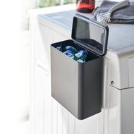 【日本YAMAZAKI】tower磁吸式洗衣球收納盒(黑)