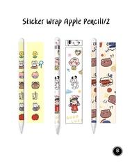 3 in 1 !!!  สติกเกอร์ สำหรับติด Apple Pencil Gen1 & Gen2 สินค้ามีพร้อมส่งในไทย Sticker 3M For Apple pencil