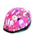 VR-1 兒童自行車安全帽(小花),桃紅色《C77-214》