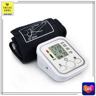 Original Electronic Blood Pressure Monitor Arm type Arm style blood pressure monitor Bp monitor digital Bp monitor on sale Bp monitor arm Bp monitor digital BP monitor digital on sale digital BP Monitor Device USB Cable or Battery Gauge
