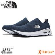 【The North Face 男 輕量便鞋《蔭藍》】3RDX/休閒健行鞋/懶人鞋/針織徒步鞋/襪套式