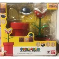 SHF 馬力歐 瑪里奧 食人花 正版 超級瑪利歐 SHF 超級瑪利兄弟 瑪利歐 可動 玩具 配件包 花