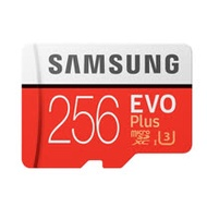 SAMSUNG 三星 256GB 100MB/s 【EVO Plus】 microSDXC TF UHS-I U3 記憶卡(平輸)