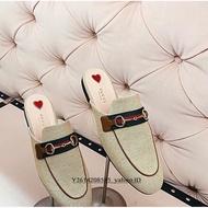 Gucci Princetown canvas slipper 穆勒鞋