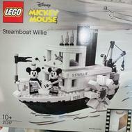 [現貨!!!]Lego 21317 樂高米奇威利船