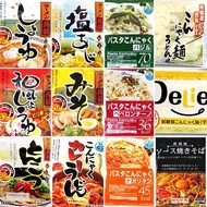 Healthy Konjac Ramen etc. Konjac Noodle Type 12 Types Set