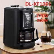 เครื่องชงกาแฟอัตโนมัติเต็มรูปแบบ,ทำกาแฟ DL-KF1061 220V 900W 600ML สำหรับใช้ในบ้าน