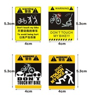 Bicycle reflective sticker