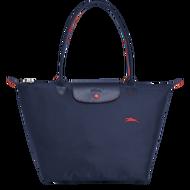 新版LONGCHAMP 1899 女士女包 LE PLIAGE COLLECTION系列織物大號手提單肩包購物袋