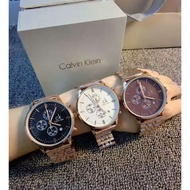 原廠公司貨全CK手錶男錶 CITY系列三眼計時夜光日曆石英男士腕錶 CK情侶對錶 CK CK男錶