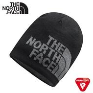 【The North Face HIGHLINE BEANIE 雙面保暖毛帽《黑/灰》】A5WG/保暖帽/雪帽/防寒/登山