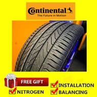 Continental UltraContact UC6 tyre tayar tire(With Installation) 195/55R15 185/55R16 195/55R16 195/50R16 205/55R16 205/50R16 215/55R16 205/60R16 215/60R16 215/45R17 225/45R17 205/50R17 215/50R17 225/50R17 215/55R17 225/55R17