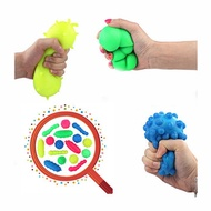 Squishy Bacteria Stress Balls Reliever Fun Gift Stress Virus Model Toy