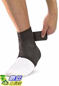 [106美國直購] Mueller 護踝套 Ankle Support withstraps, Black, Large