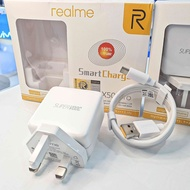 ⭐Realme Oppo Super VOOC Smart Charger (TYPE C) 65W Fast Quick Charge