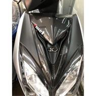 雷霆S150 正碳纖維大盾V領 面板V領 飾條 超服貼密合 頂極杜雅精油 正3K日本碳纖維 高光澤 紋路清晰