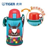 TIGER虎牌 600cc動物造型童用保冷保溫瓶_2用頭/MBR-S06G_e刺蝟