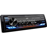 JVC KD-X470BHS Bluetooth Car Stereo Receiver with USB Port – HD AM/FM Radio, MP3 Player, Amazon Alexa Enabled - Detachable Face Plate with 2-line Display – Single DIN – 13-Band EQ (Black)
