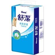 舒潔平版衛生紙300張X6包【愛買】