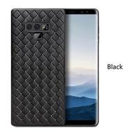 สาน Soft TPU ซิลิคอนกรณีสำหรับ Samsung Galaxy Note 9 หนังแบบ M atte ปก C oque สำหรับ Samsung Note 9
