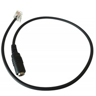 Headset to CISCO Telephone RJ9 Adapter Converter 2.5mm/3.5mm Audio Short Cable