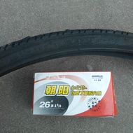 CYSB Tire 26 Inch Bicycle (37-590)26X13/8 Casing Tube Wheelchair 26x1 3/8 Casing