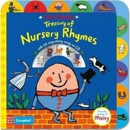 全新 現貨 Lucy Cousins Treasury of Nursery Rhymes (1硬頁+1CD)