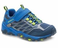 ├登山樂┤美國 MERRELL MOAB FST LOW A/C WATERPROOF 兒童多功能防水運動鞋-深藍 # MLK260331