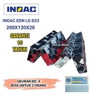 [200X120X20] Kasur Inoac Lipat / Kasur lipat Busa Inoac Murah  EON LG D 23 Ukuran 200X120X20 CM / Kasur inoac original