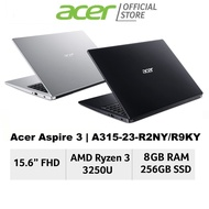 [BACK IN DEMAND ] Acer Aspire 3 A315-23-R2NY/R9KY(Silver/Black) 15.6 Inch FHD Laptop with Ryzen Processor and 8GB RAM