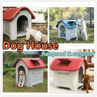dog house waterproof Sun protection dog plastic Dog house outdoor rain-proof dog kennel Big dog house