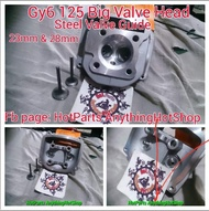 Gy6 125 Big valve head for Rusi kymco and Motorstar