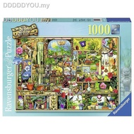 ✺♤✲﹍✢㍿Ravensburger GAME Jigsaw Puzzles GERMANY import  1000PCS Adult puzzle Magical flower rack1