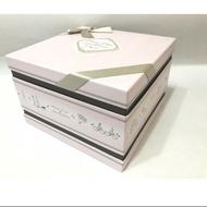 (300滿額郵寄免運)郭元益喜餅空盒 收納盒 收藏盒 禮物盒 置物盒 教具盒 手提盒 方型提盒 禮盒 紙盒  珠寶盒