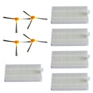 Filter Brushes Set For Proscenic 800T Robot Vacuum Cleaner Replacement Accessory