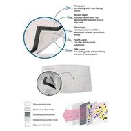 口罩濾片防霧霾防塵活性炭過濾片活性炭PM2.5濾芯 1片裝