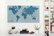 🇮🇹專屬旅行記憶。Palomar 世界地圖 城市版/國家版 PinWorld 海水藍/宇宙黑