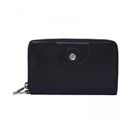 LONGCHAMP LEATHER WALLET 3615 737 001 (BLACK)