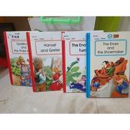 二手 敦煌書局 英文繪本 Reading House Level 4本英文書+4CD
