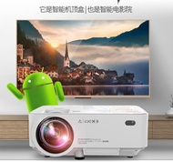 迷你投影儀 光米M1手機投影儀家用高清微型智慧辦公無線投影機便攜式家庭影院 JD 玩趣3C