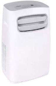 Koldfront PAC1402W Portable Air Conditioner with Dehumidifier and Fan for Rooms up to 500 Sq. Ft. with Remote Control